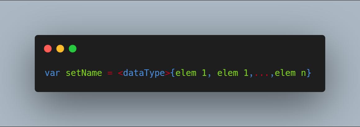 chỉ định kiểu dữ liệu