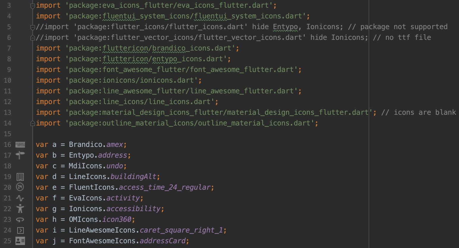 Icon preview in IntelliJ/Android Studio